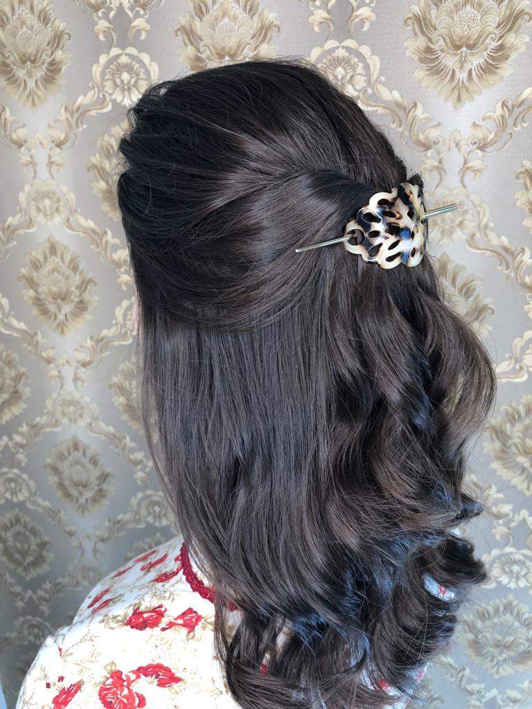 penteado para prenda
