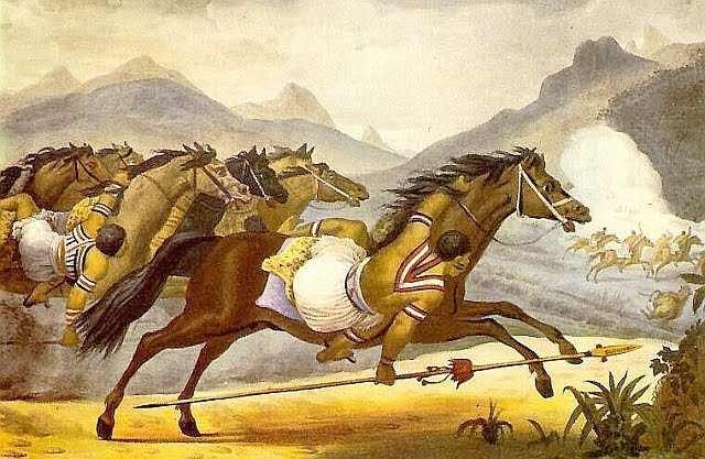 índios charruas cavaleiros