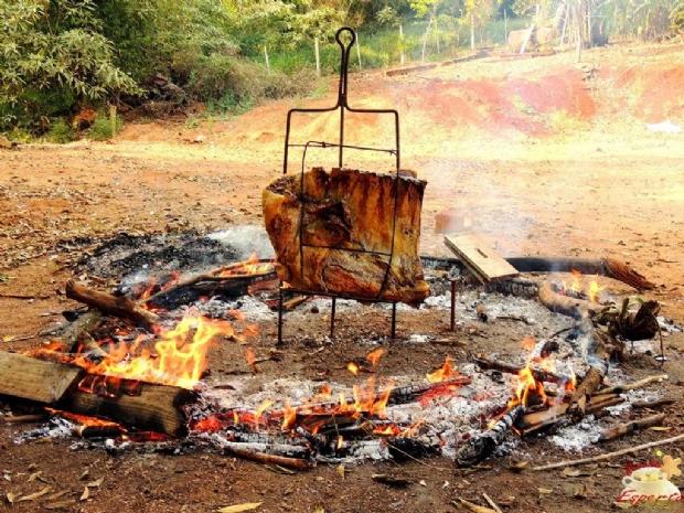 Costelão ao fogo de chão
