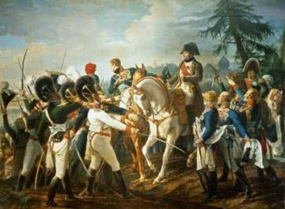 Debret no Palácio de Versalhes (pintura para Napoleão)