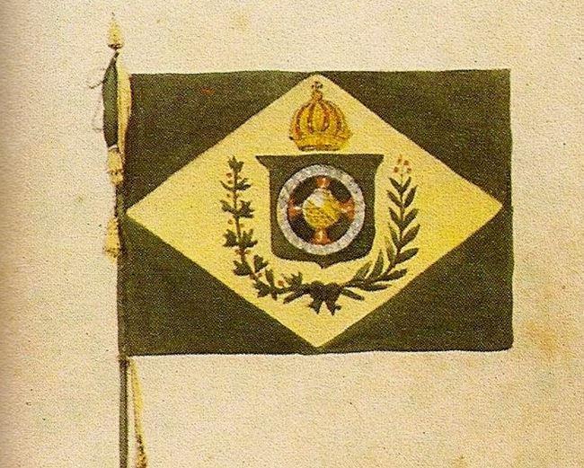 bandeira do império debret