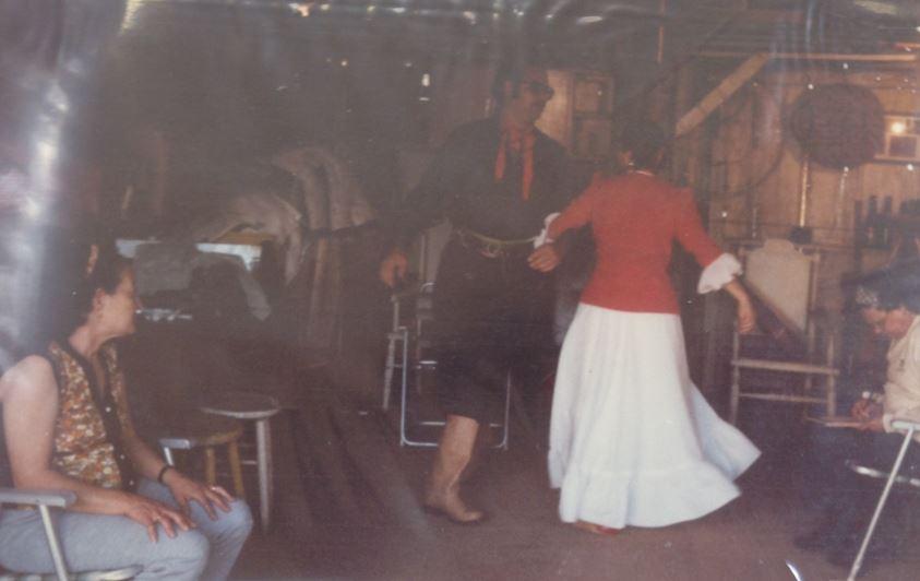 dança da polca-mancada