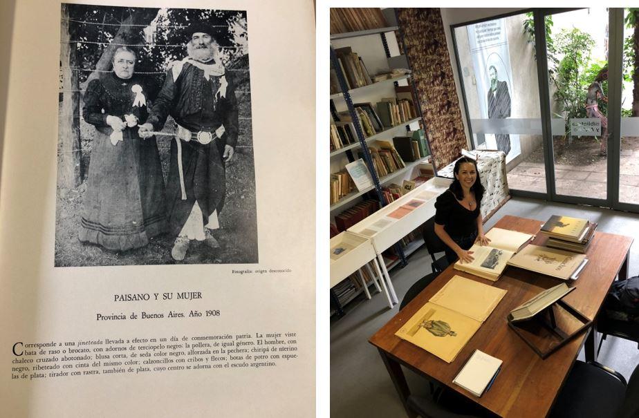 Fonte: Livro do acervo do museu/GIMENEZ PALADINO, Jose M. El Gaúcho 1860/1930. Buenos Aires: Palsa, 1971.