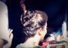 penteado de prenda